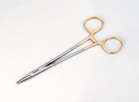 Crile-Wood Needle Holder, 1.2x2.0mm carbide jaws