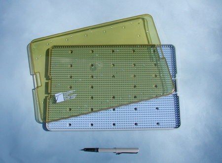 Sterilizing Case, single level, 15 x 10 x 0.75 inches